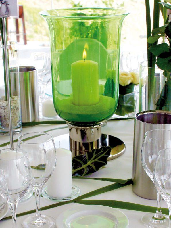 Diva lantern green