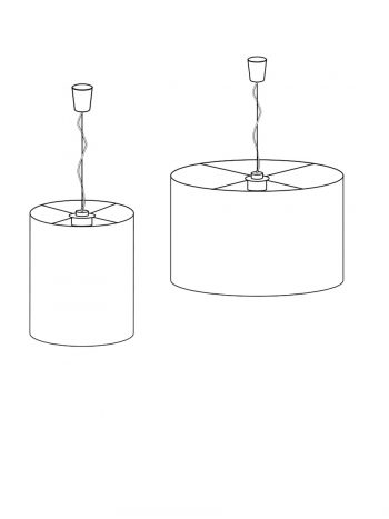 Round cylindrical